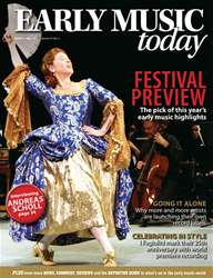 Early Music Today issue March - May 2011