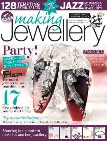 Making Jewellery issue January 2010