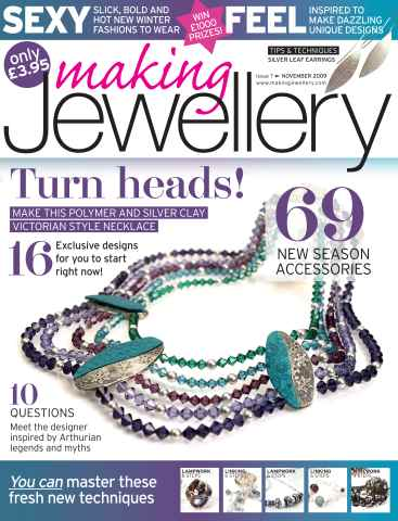 Making Jewellery issue November 2009