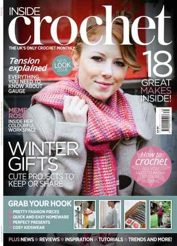 Inside Crochet issue November 2012 Issue 35