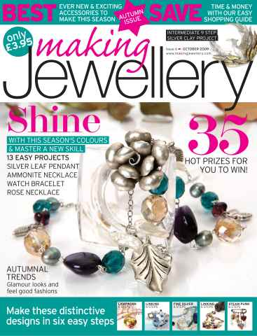 Making Jewellery issue October 2009