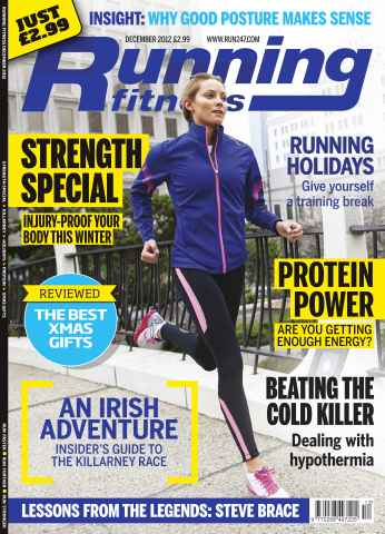 Running Fitness issue Injury-Proof Your Body Dec 12