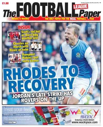 The Football League Paper issue 28th October 2012