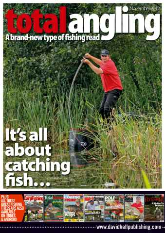 Total Angling issue November 2012