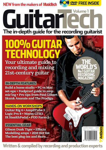 MusicTech Focus : Guitar Tech issue Guitar Tech Volume 1