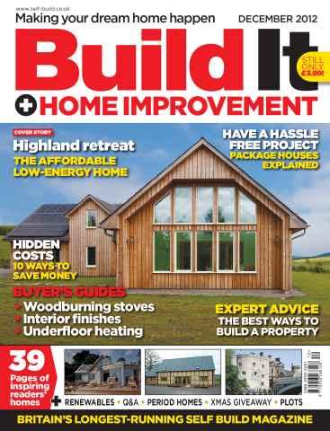 Build It issue Build It December 2012