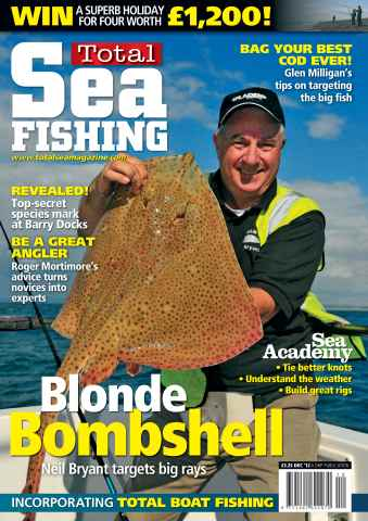 Total Sea Fishing issue December 2012