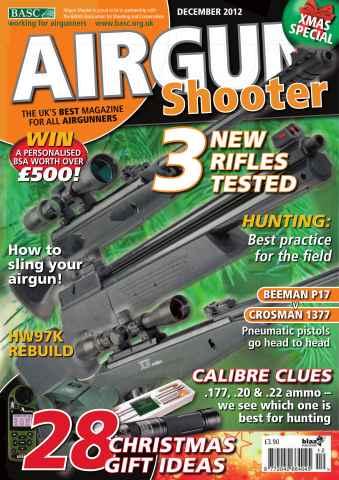 Airgun Shooter issue December 2012