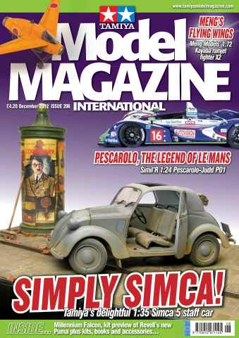 Tamiya Model Magazine issue 206
