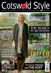 Cotswold Style issue Cotswold Style November 2012