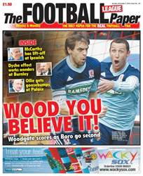 The Football League Paper issue 4th November 2012