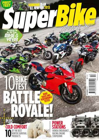 Superbike Magazine issue December 2012
