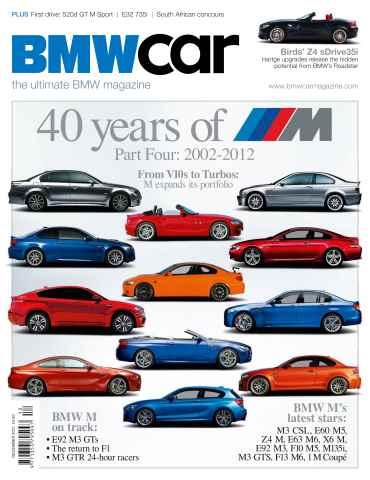 BMW Car issue December 2012