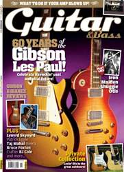 Guitar & Bass Magazine issue Nov 2012 60 Years of the Gibson