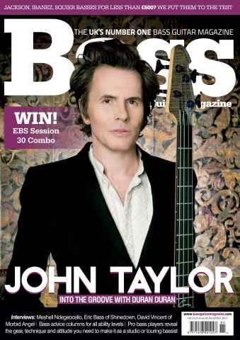 Bass Guitar issue 85 December 2012