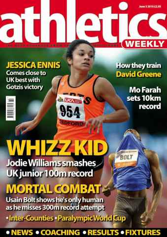 Athletics Weekly issue AW June 3 2010