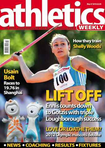 Athletics Weekly issue AW May 27 2010