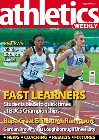 Athletics Weekly issue AW May 6 2010