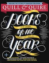 Quill & Quire issue December 2012
