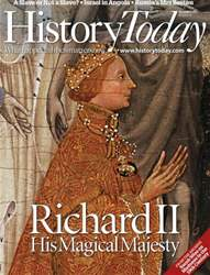 History Today issue December 2012