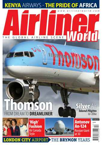 Airliner World issue December 2012
