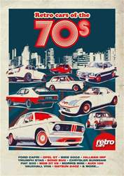 Retro cars of the 70s issue Retro cars of the 70s