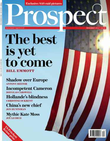 Prospect Magazine issue 201. December 2012
