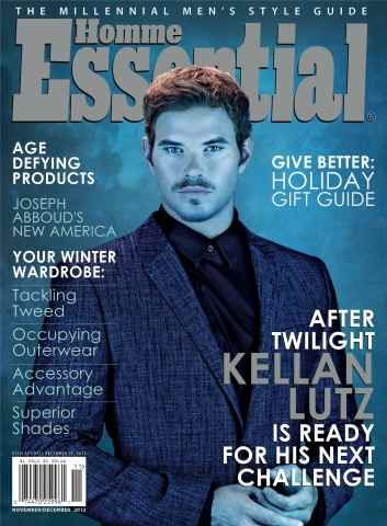 Essential Homme issue November-December 2012