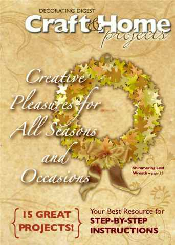 Craft & Home Projects issue Special 16 Page Sample Issue