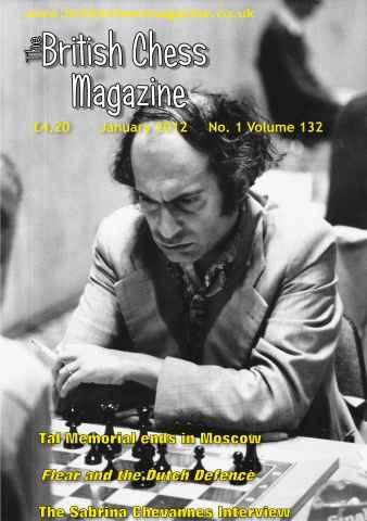 British Chess Magazine issue January 2012
