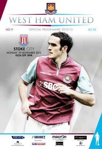 West Ham Utd Official Programmes issue WEST HAM UNITED V STOKE CITY