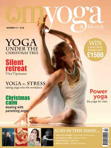 OM Yoga UK Magazine issue December 2012 - Issue 27