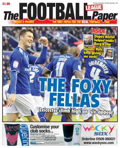 The Football League Paper issue 18th November 2012