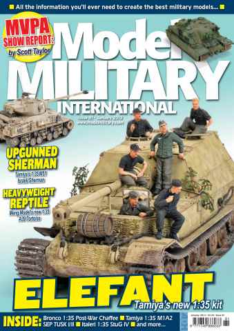 Model Military International issue 81