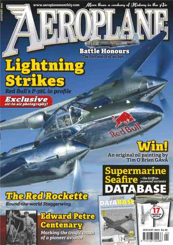 Aeroplane issue No.477 Supermarine Seafire