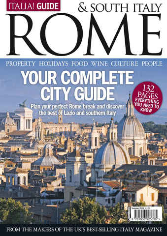 Italia! Guide to Rome issue Italia! Guide to Rome and South