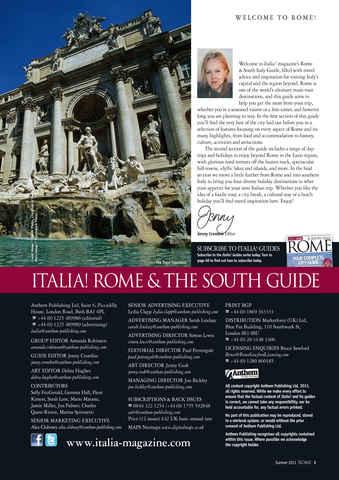 Italia! Guide to Rome Preview 3