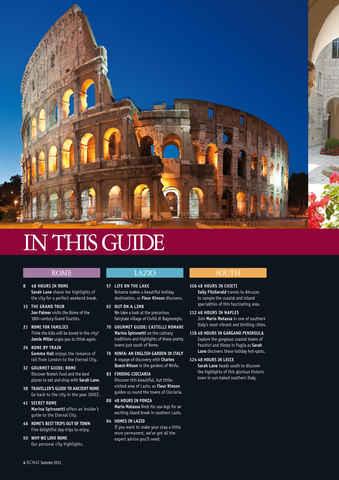 Italia! Guide to Rome Preview 4