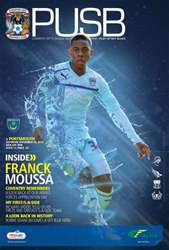 CCFC Official Programmes issue 13 v PORTSMOUTH (12-13)