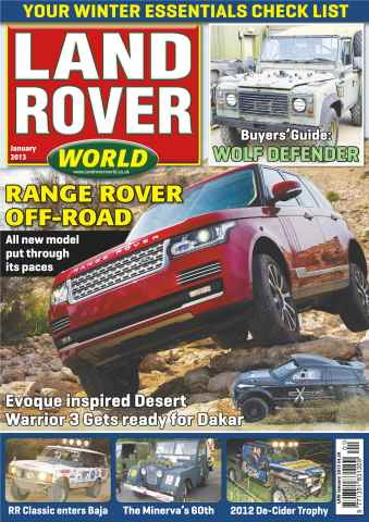 Landrover World issue Range Rover off-road test