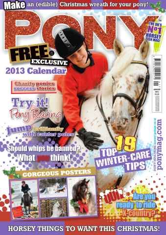 Pony Magazine issue January 2013
