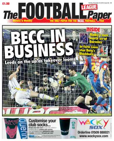 The Football League Paper issue 25th November 2012