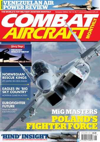 Combat Aircraft issue Vol 14 No 1