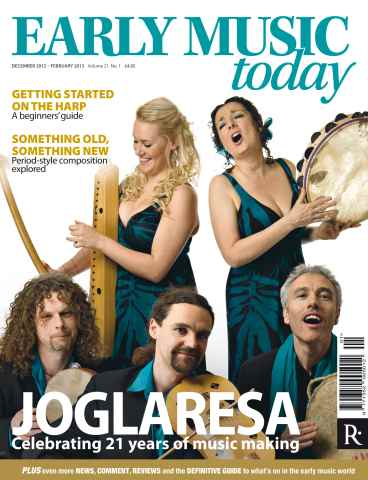 Early Music Today issue Dec -Feb 2012-13