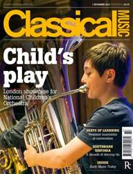 Classical Music issue Classical Music 1 December 2012