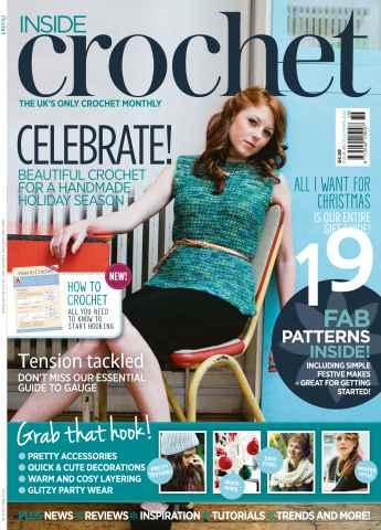 Inside Crochet issue December 2012 Issue 36