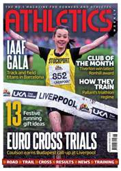 Athletics Weekly issue AW November 29 2012