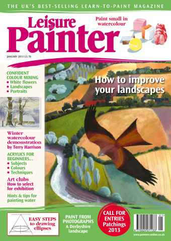 Leisure Painter issue January 2013