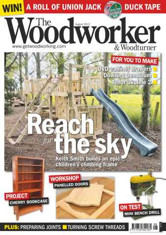 The Woodworker Magazine issue August 2012
