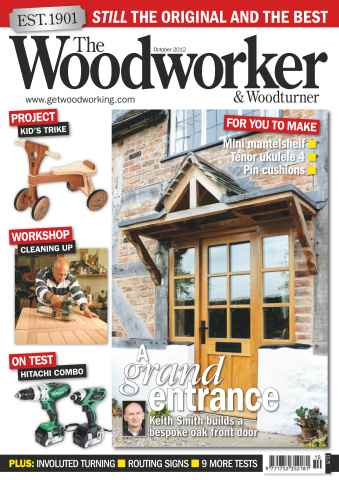 The Woodworker Magazine issue October 2012